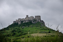 Castillo del ¡de SpiÅ Imágenes de archivo libres de regalías