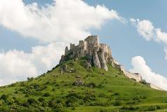 Castillo del ¡de SpiÅ - ské Podhradie del ¡de SpiÅ Imagen de archivo