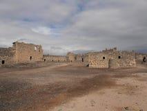 Castillo del desierto de Al Azraq, Jordania Fotografía de archivo
