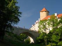 Castillo del estado de Veveřà Foto de archivo