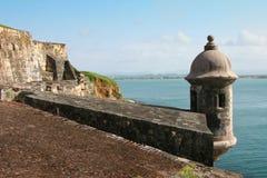 castillo Del Felipe morro San Obraz Stock