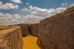 castillo del fyr morro Den gammala fästningen cuba havana Royaltyfri Fotografi