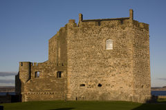 Castillo del grado de oscuridad Imagen de archivo libre de regalías