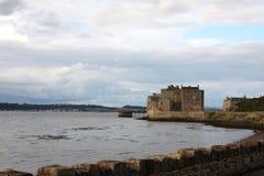 Castillo del grado de oscuridad Imágenes de archivo libres de regalías