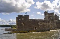 Castillo del grado de oscuridad Foto de archivo libre de regalías
