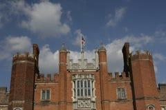 Castillo del Hampton Court Fotografía de archivo