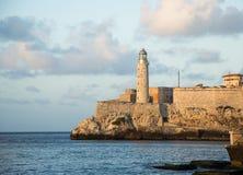 castillo del Havana losu angeles morro Obraz Royalty Free