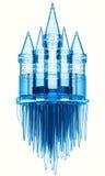 Castillo del hielo ilustración del vector