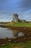 Castillo del irlandés del siglo XIV Fotografía de archivo