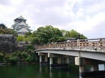 Castillo del jio de Osaka Fotografía de archivo libre de regalías