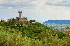 Castillo del magra de Castelnuovo Foto de archivo