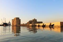 castillo del mar Fotografía de archivo