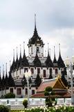 Castillo del metal en Bangkok Tailandia Imagen de archivo libre de regalías