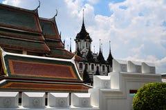 Castillo del metal en Bangkok Tailandia Foto de archivo