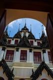 Castillo del metal en Bangkok Tailandia Imagen de archivo