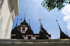 Castillo del metal en Bangkok Tailandia Imágenes de archivo libres de regalías