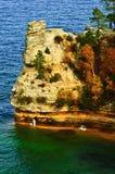 Castillo del minero, superior de lago Foto de archivo libre de regalías