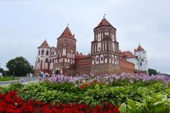 Castillo del MIR, Bielorrusia fotografía de archivo