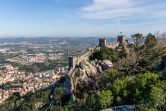 Castillo del Moorish Imagenes de archivo