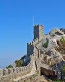 Castillo del Moorish de Thel Imagen de archivo libre de regalías