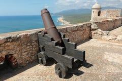 Castillo del Morro - Canon Royaltyfri Fotografi