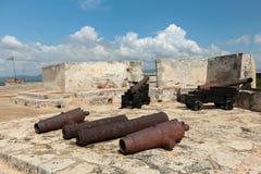 Castillo del Morro - Canons Stock Image