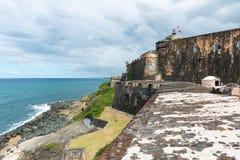Castillo del Morro immagini stock libere da diritti