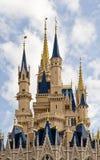 Castillo del mundo de Disney Imagen de archivo