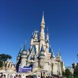 Castillo del mundo de Disney Fotos de archivo