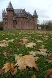 Castillo del otoño Foto de archivo libre de regalías