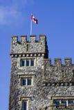 Castillo del parque de Hatley Imagen de archivo