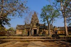 Castillo del peldaño de Phanom Foto de archivo libre de regalías