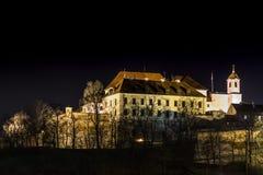 Castillodel pilberk de Å Imágenes de archivo libres de regalías
