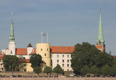 Castillo del presidente Foto de archivo