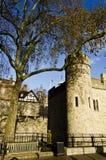 Castillo del puente de la torre, Londres Imagen de archivo libre de regalías
