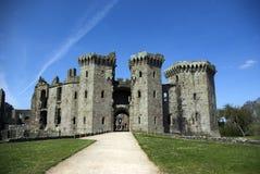 Castillo del raglán Fotos de archivo libres de regalías