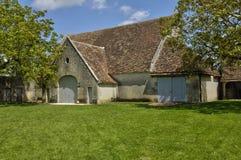 Castillo del renacimiento de Talcy en Loir y Cher Fotos de archivo