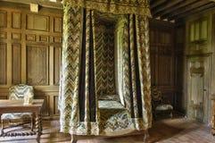 Castillo del renacimiento de Talcy en Loir y Cher Imágenes de archivo libres de regalías