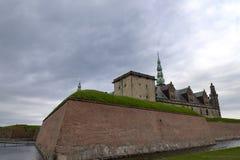 Castillo del ` s Kronborg de Hamlet Fotografía de archivo