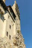 Castillo del salvado - castillo de Drácula s Foto de archivo