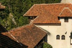 Castillo del salvado - castillo de Drácula s Fotos de archivo