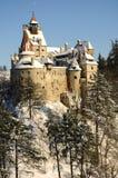 Castillo del salvado de Dracula Imágenes de archivo libres de regalías