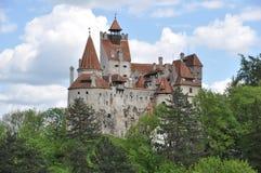 Castillo del salvado de Dracula Fotos de archivo libres de regalías