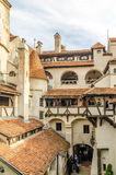 Castillo del salvado dentro Foto de archivo libre de regalías