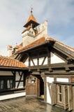 Castillo del salvado dentro Imagen de archivo libre de regalías
