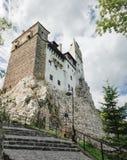 Castillo del salvado o de Drácula en Transilvania, Rumania Imagen de archivo libre de regalías