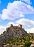 Castillo del saxofón Imagen de archivo libre de regalías