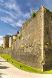 Castillo del sedán en Francia imagen de archivo