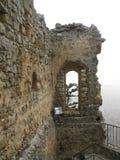 Castillo del St. Hilarion Fotografía de archivo