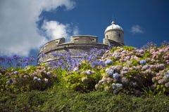Castillo del St Mawes imagen de archivo libre de regalías